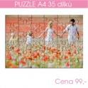 Puzzle A4 35 dílů